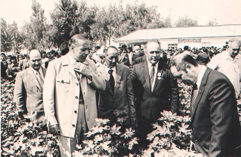Heydər Əliyev Ağcabədidə, 12 iyul 1982